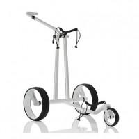 Chariot électrique JuCad Phantom Carbon White, blanc