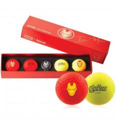 Balles de golf Volvik Marvel Iron Man
