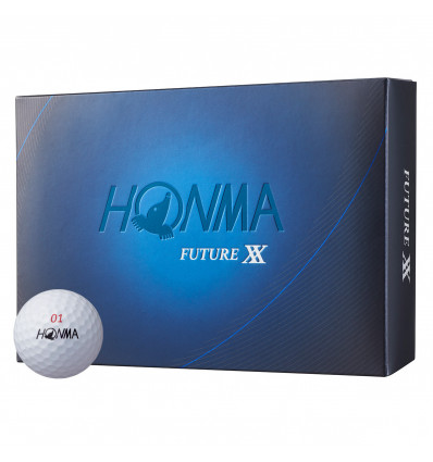 Balles de golf Honma Future XX blanches