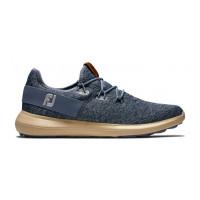 Chaussures de golf Footjoy Flex Coastal Bleu Gris