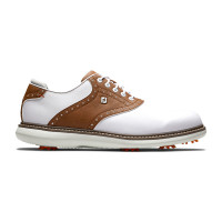 Chaussures FootJoy FJ Traditions Blanc Marron