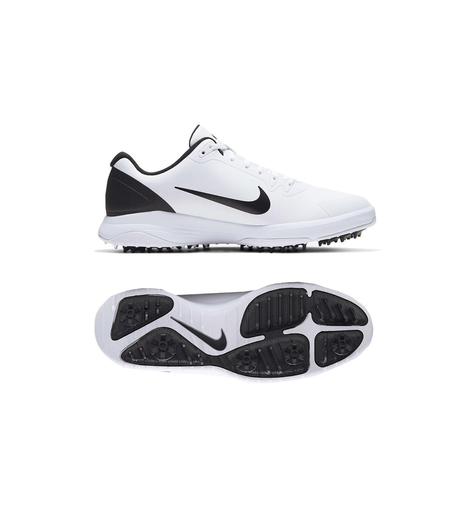 Chaussures de golf Nike Infinity G Blanc Noir