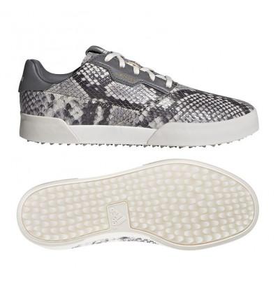 Chaussure Adidas Adicross rétro blanc/gris/motif