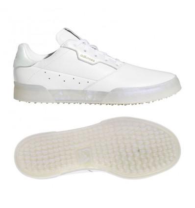 Chaussures Adidas Adicross rétro Blanche