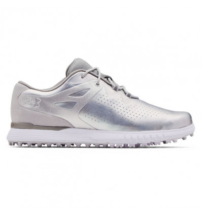 Chaussures Under Armour Femme Charged Breathe Blanc