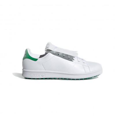 Chaussures de golf Adidas Stan Smith vert/blanc
