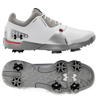 Chaussures Under Armour Spieth 4 blanc