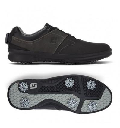 Chaussures de golf FootJoy Contour BOA Noir