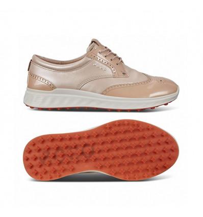 Chaussures de golf Ecco W golf s-classic rose perle
