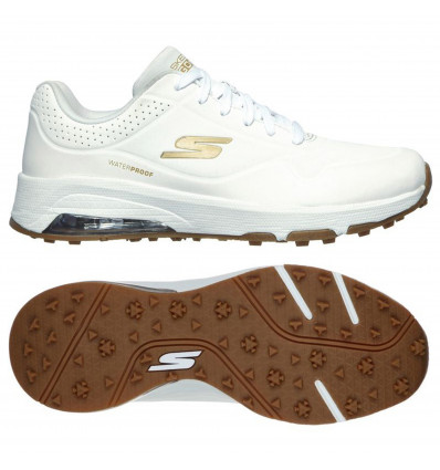 Chaussures skechers go golf skech-air dos blanc