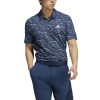 Polo Adidas bleu Collection été 2021
