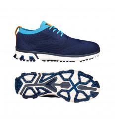 Chaussures de golf Callaway Golf Apex Pro Knit Bleu