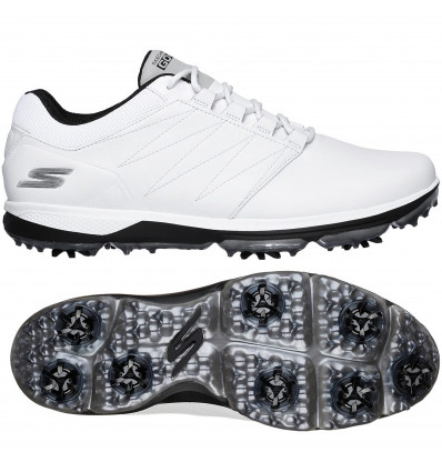 Chaussures Skechers go golf blanches homme