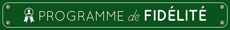 Programme fidélité La Route du Golf